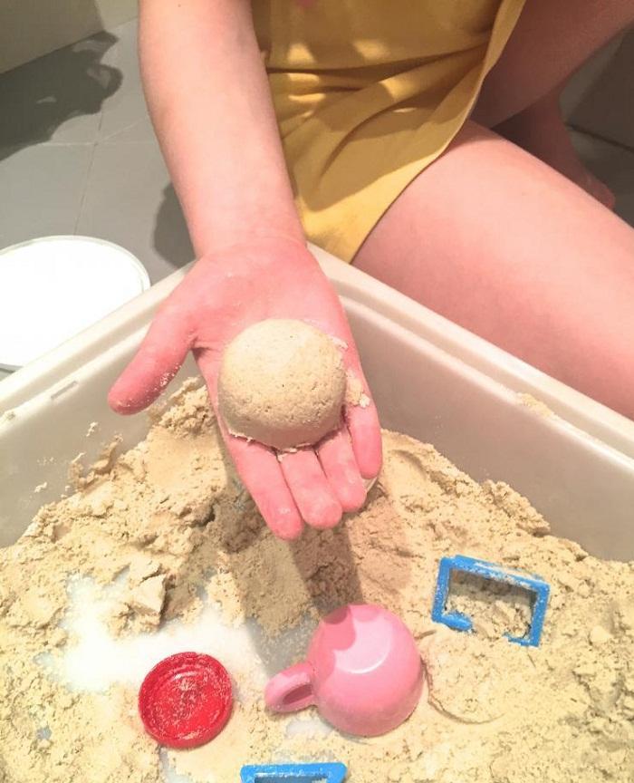 Фигурка из кинетического песка