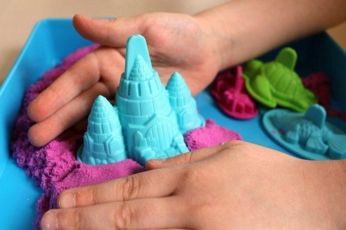 У кинетического песка есть ряд полезных свойств