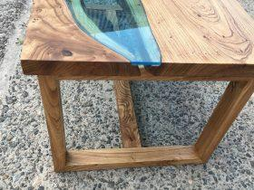 Деревянное основание стола