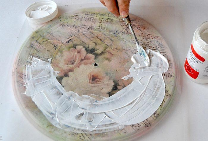 Создание рельефного циферблата