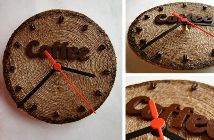 Уникальные часы с кофейными нотками