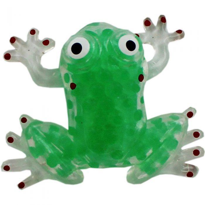 Лягушка-сквиши, наполненная орбизами