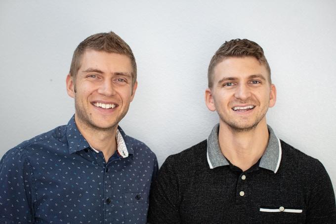 Марк и Мэтью Маклахен, создатели сквиши