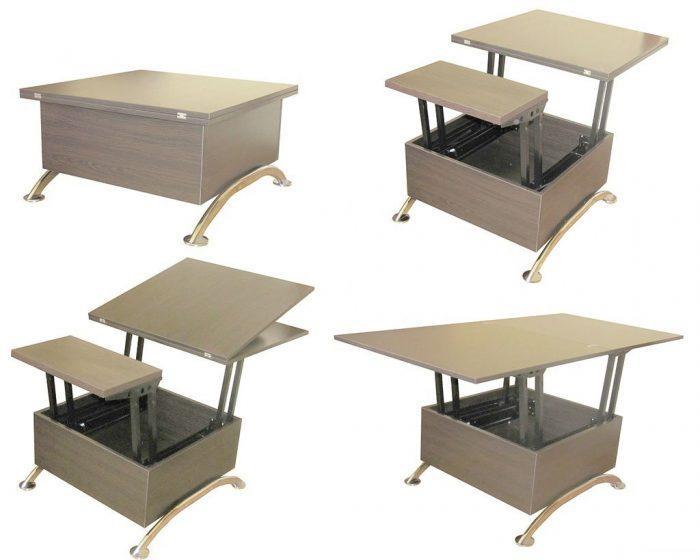 Пример оригинального раскладного стола