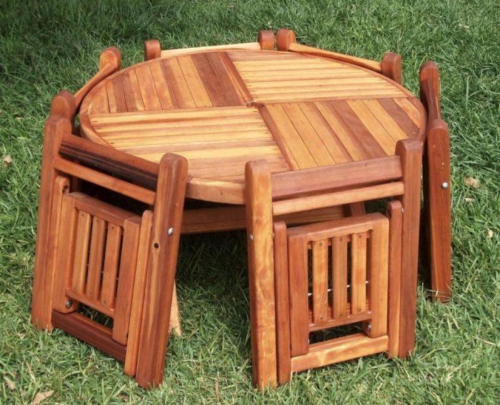 Раскладной столик для отдыха на природе