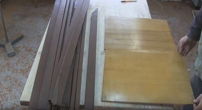 Заготовки для стола
