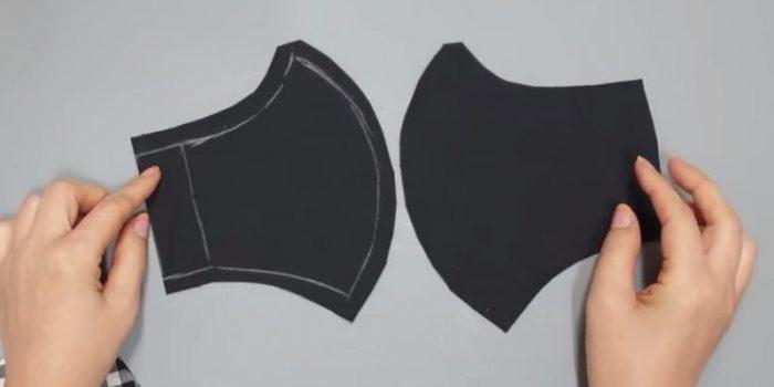Две заготовки из мягкой ткани