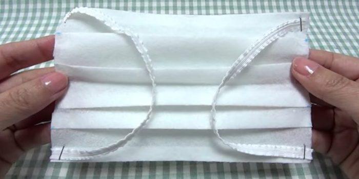 Медицинская маска из бумаги