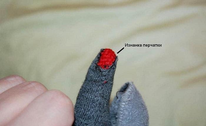 Еще фото изнанки перчатки