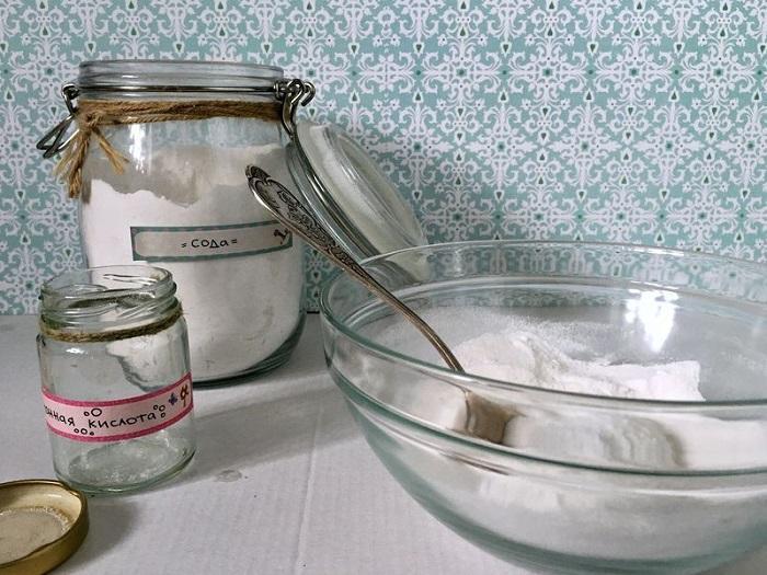 Ингредиенты для масляной бомбочки