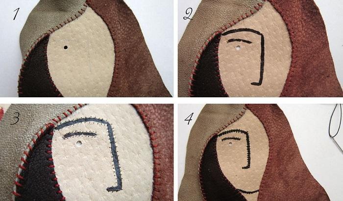 Как создается «лицо»