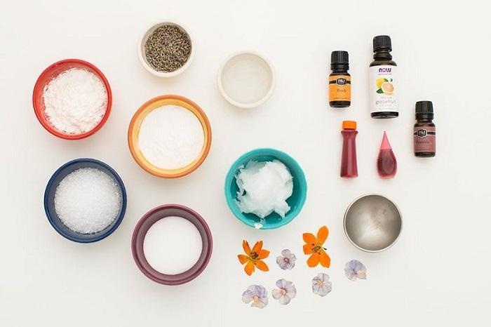 Материалы для изготовления бомбочки для ванны