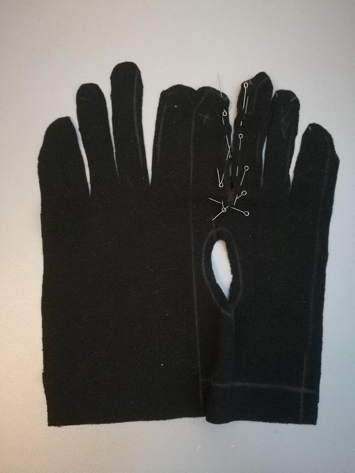 Промежуточные детали пальцев