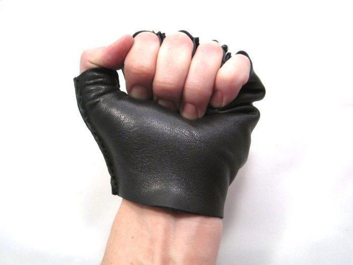 Самодельная велосипедная перчатка