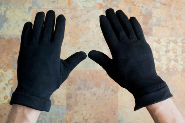 Самодельные перчатки из флиса
