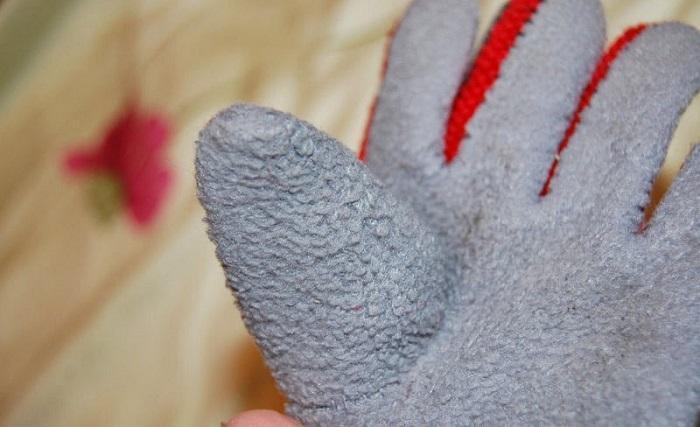 Вшитый большой палец