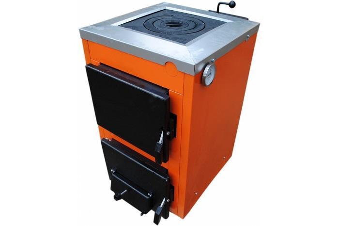 Котел твердотопливный стальной (котел-печь) ТермоБар АКТВ-12