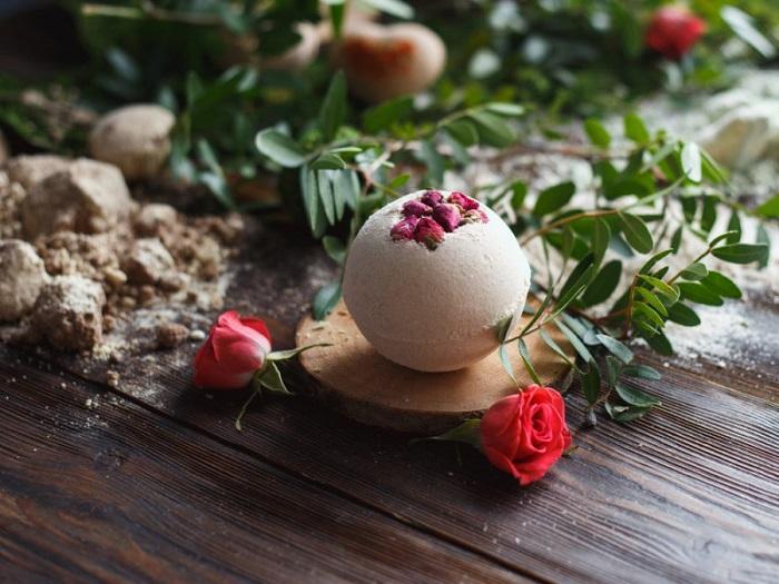 Ароматная бомбочка с розами