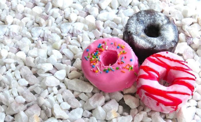Бомбочки для ванны в виде пончиков