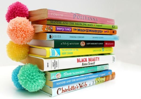 Стильное дополнение книг