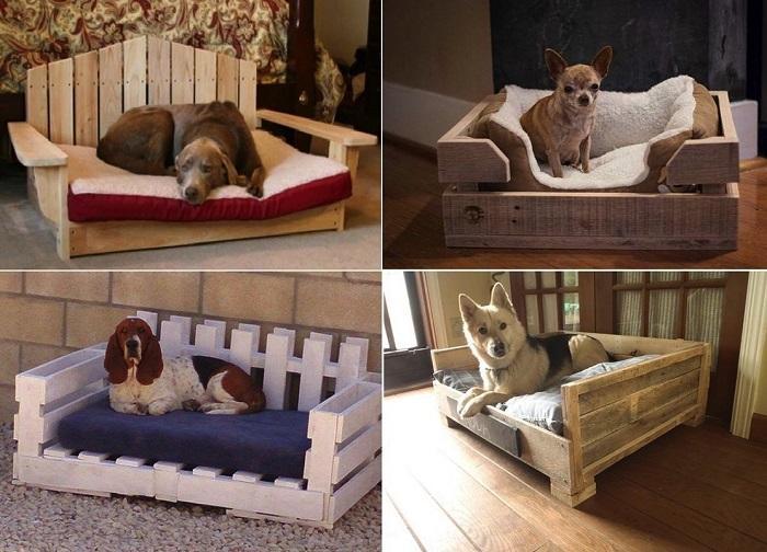 Несколько вариантов лежанки для собаки