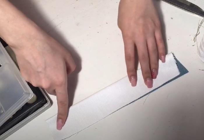 Деталь ручки сложена пополам