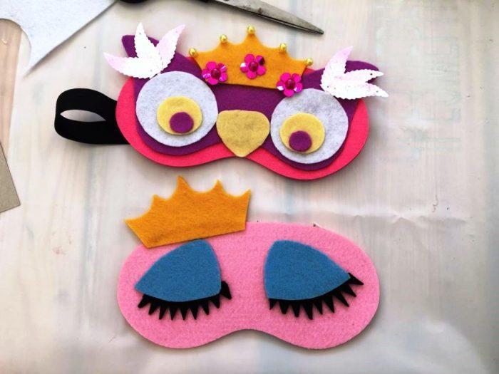 Для изготовления маски можно использовать разные материалы