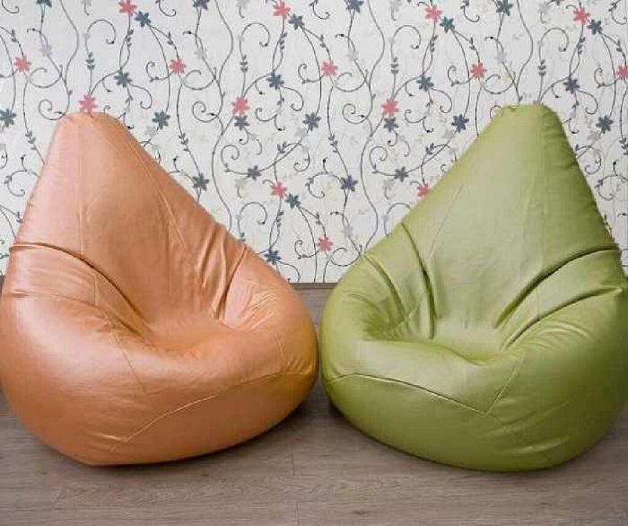 Кожаные кресла-мешки
