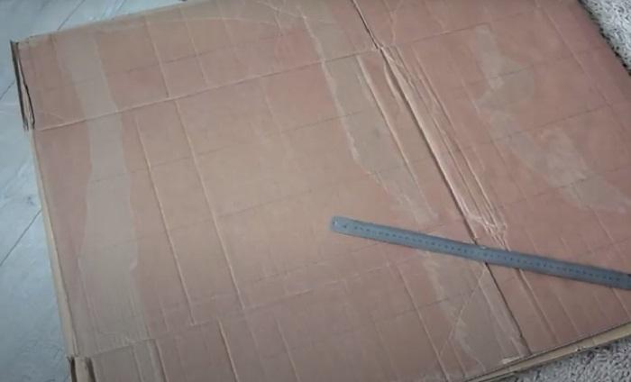 Подготовка картонных коробок