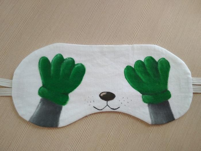 Весьма оригинальный вариант маски