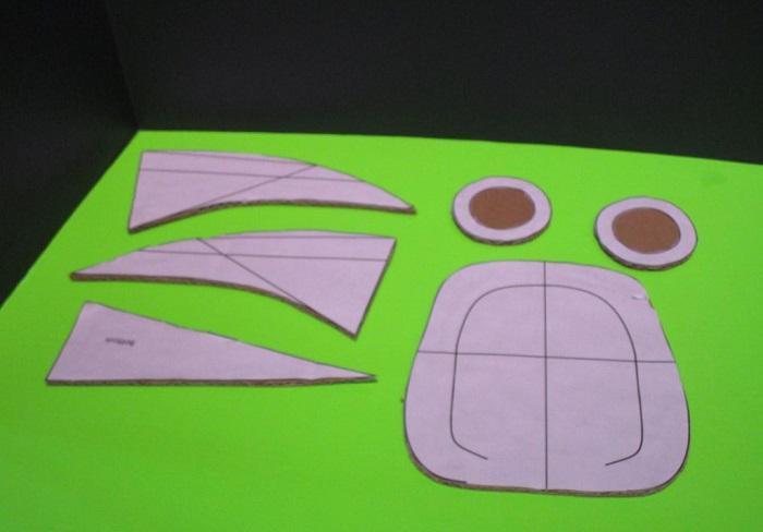 Детали после обрезки и шлифовки краев