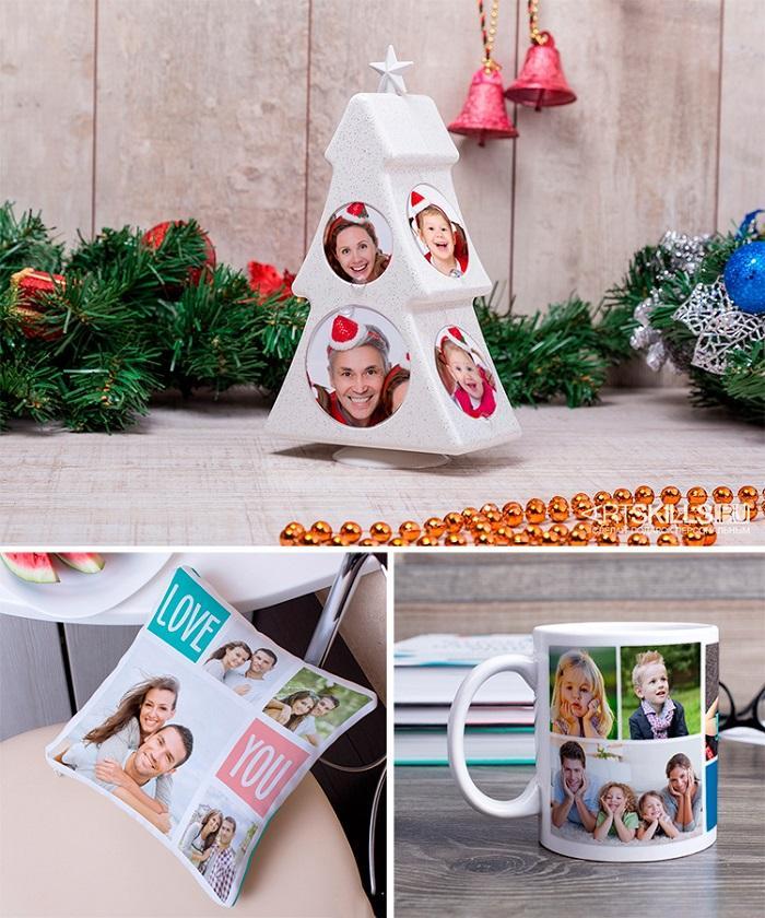 Идеи для новогодних фото-подарков