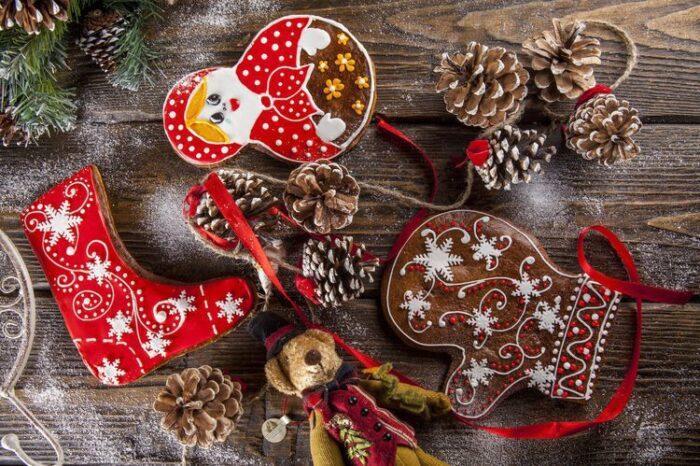Красивые новогодние подарки