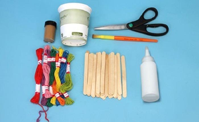 Инструменты и материалы для поделки