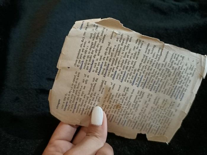 Подходящий лист бумаги