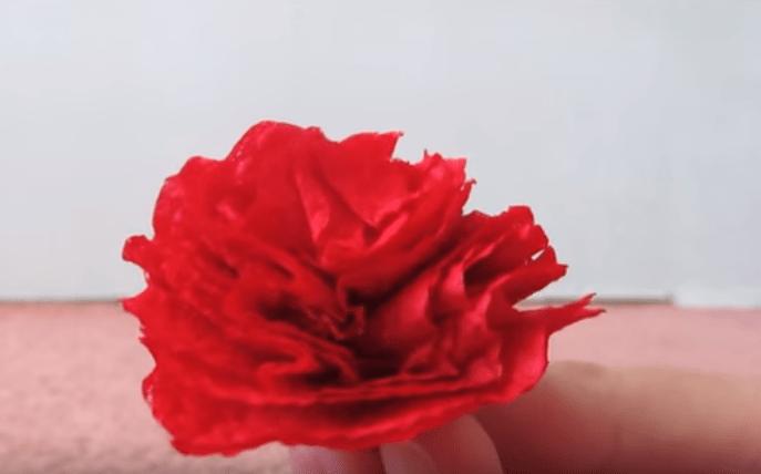 Получился цветок