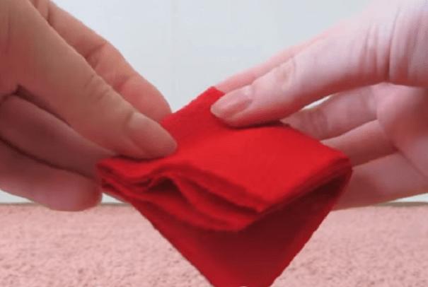 Складываем салфетку