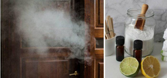 как устранить табачный запах