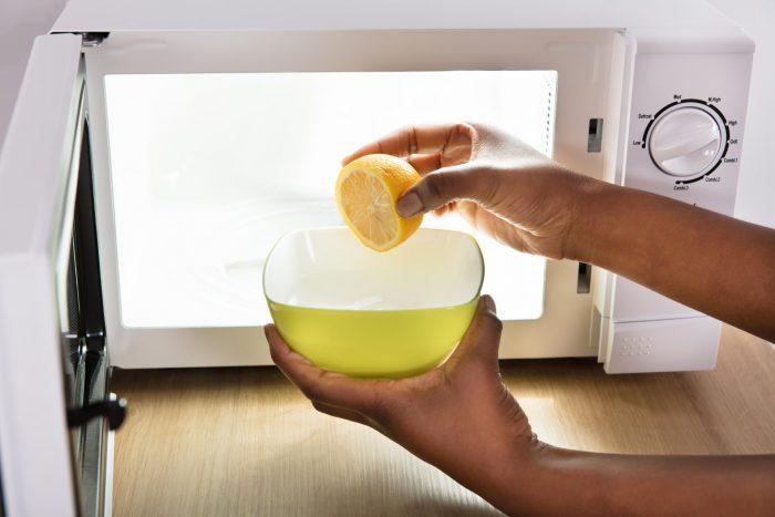 способ чистки лимоном