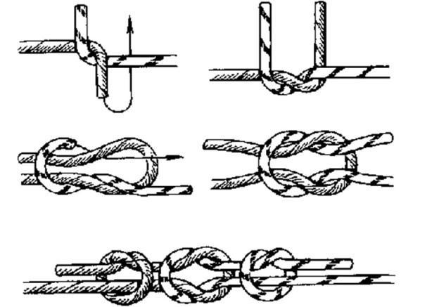 как вязать узлы5