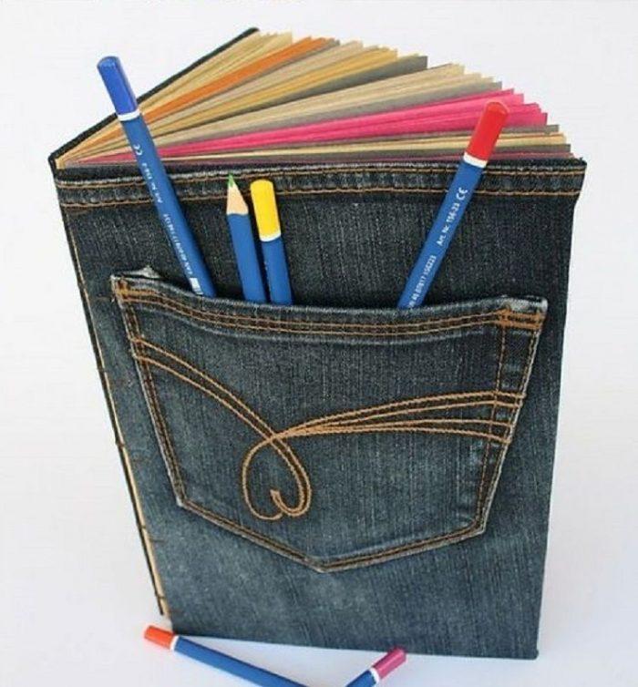 что можно сделать из старых джинс3