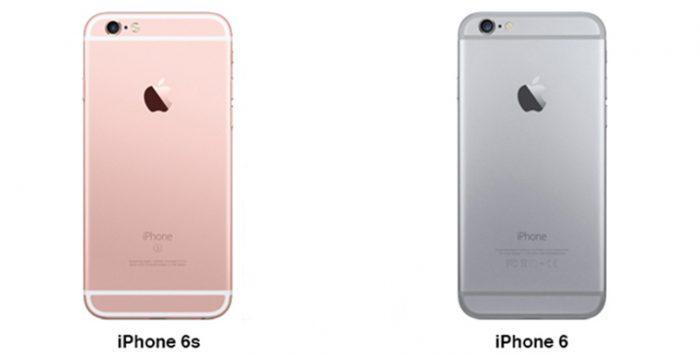 Чем отличается 6 модель айфона от 6S