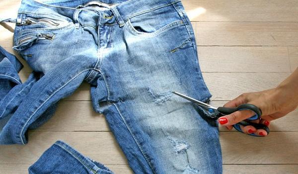 что можно сделать из старых джинс2