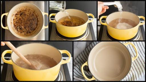 способы очистки пригоревшей кастрюли1